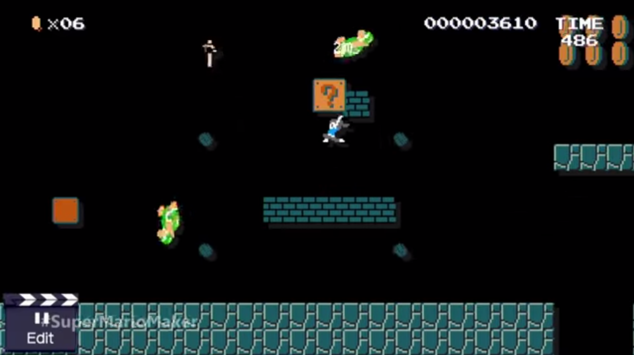 super mario maker wii fit