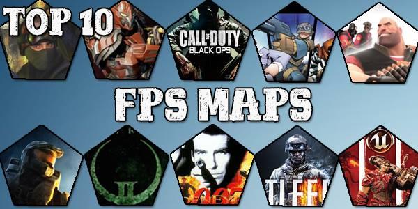top ten FPS maps