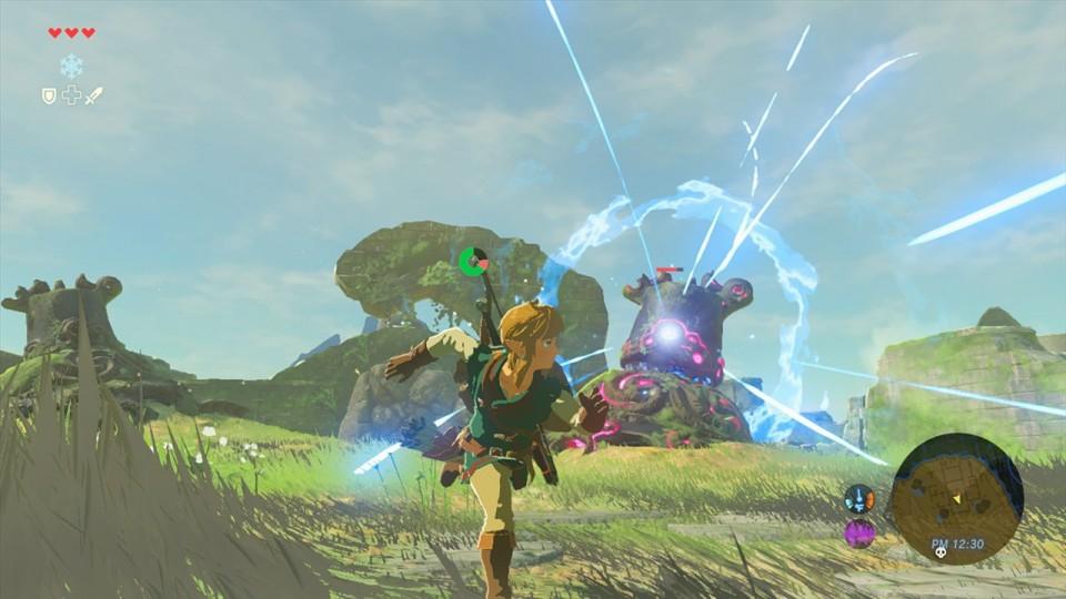Zelda-Breath-of-the-Wild-Link-vs-Guardian-960x540