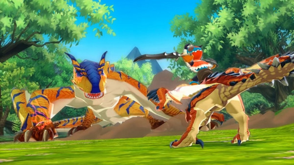 monster-hunter-stories-screenshot-mounted-combat-3ds