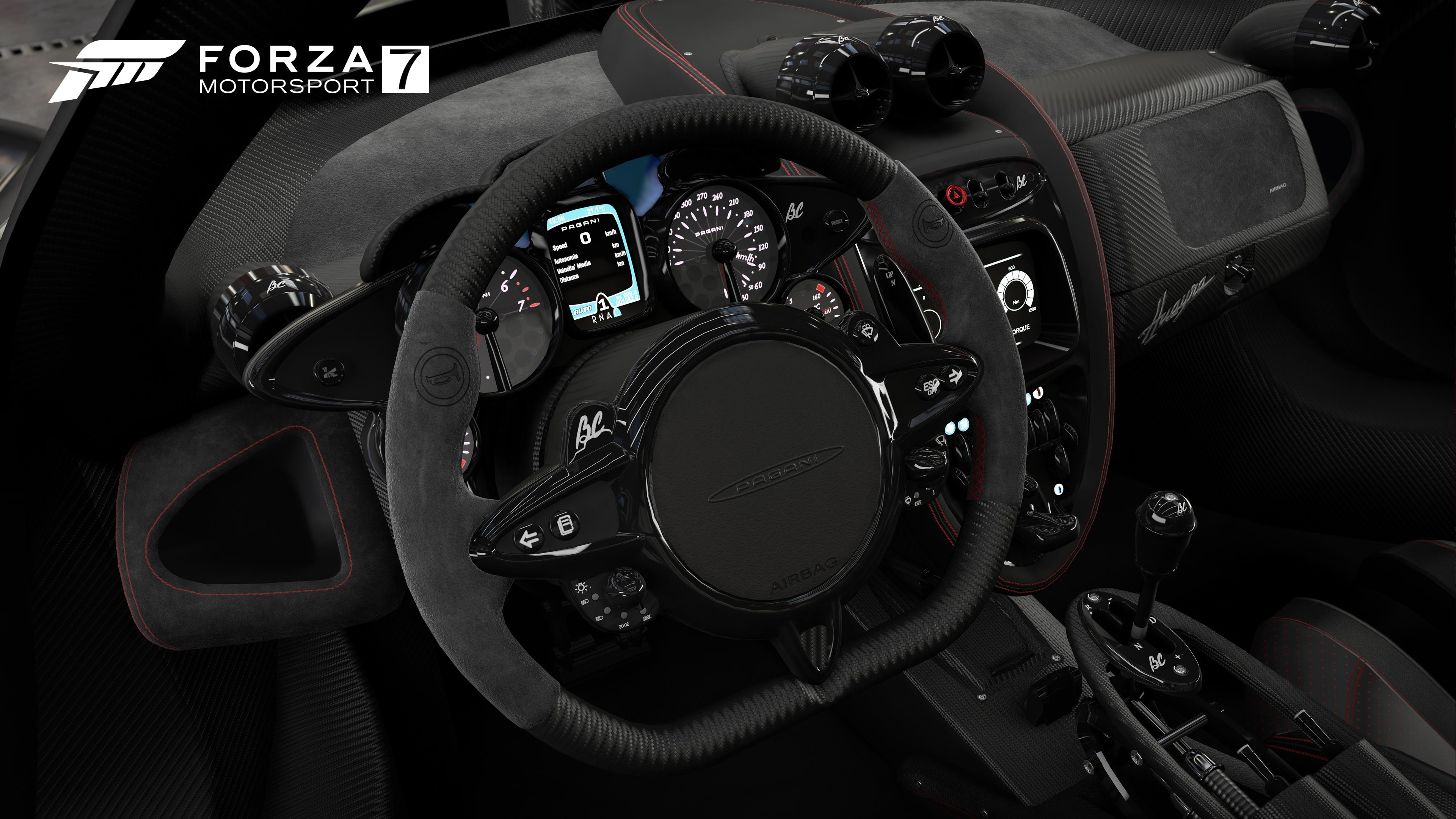 Forza Motorsport 7 Preview PaganiInterior