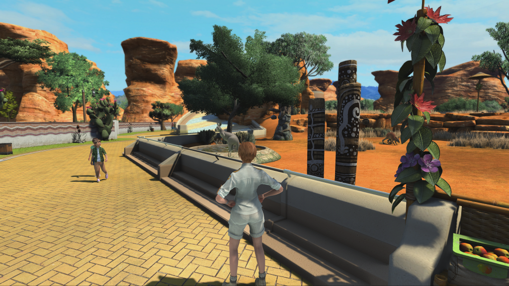 You can also walk around in your park