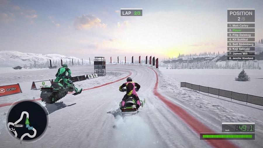 Risultati immagini per snow moto racing switch