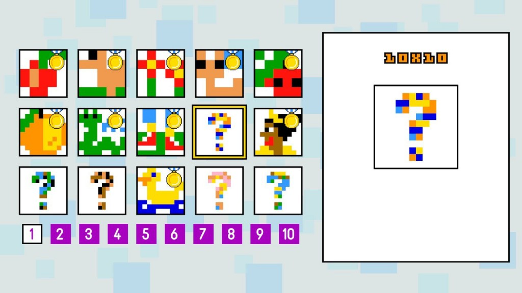 The medals encourage you to solve puzzles as quick as possible