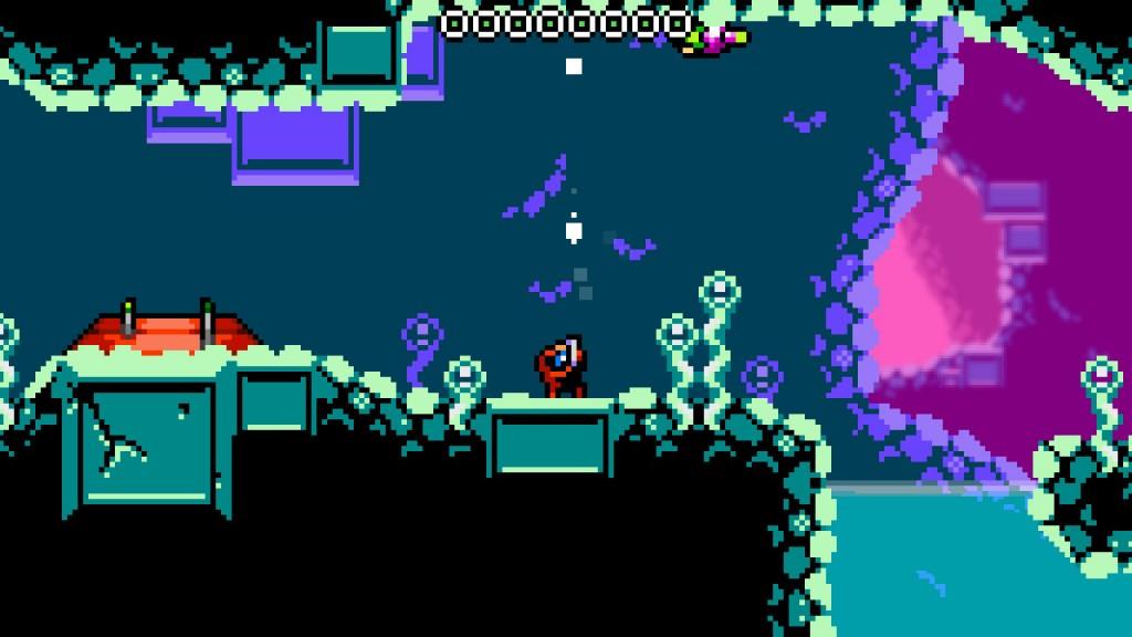 Xeodrifter-gameplay